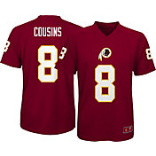 NFL Team Apparel Youth Washington Redskins Kirk Cousins #8 Navy T-Shirt