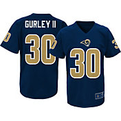 NFL Team Apparel Youth Los Angeles Rams Todd Gurley #30 Performance T-Shirt