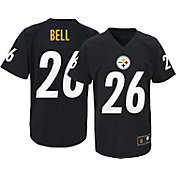 NFL Team Apparel Youth Pittsburgh Steelers Le'Veon Bell #26 Black T-Shirt