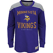 NFL Team Apparel Youth Minnesota Vikings Legend Purple Long Sleeve Shirt