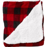 Northpoint Trading Plush Sherpa Throw