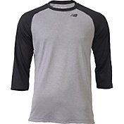 New Balance Men's ¾ Sleeve Baseball Shirt