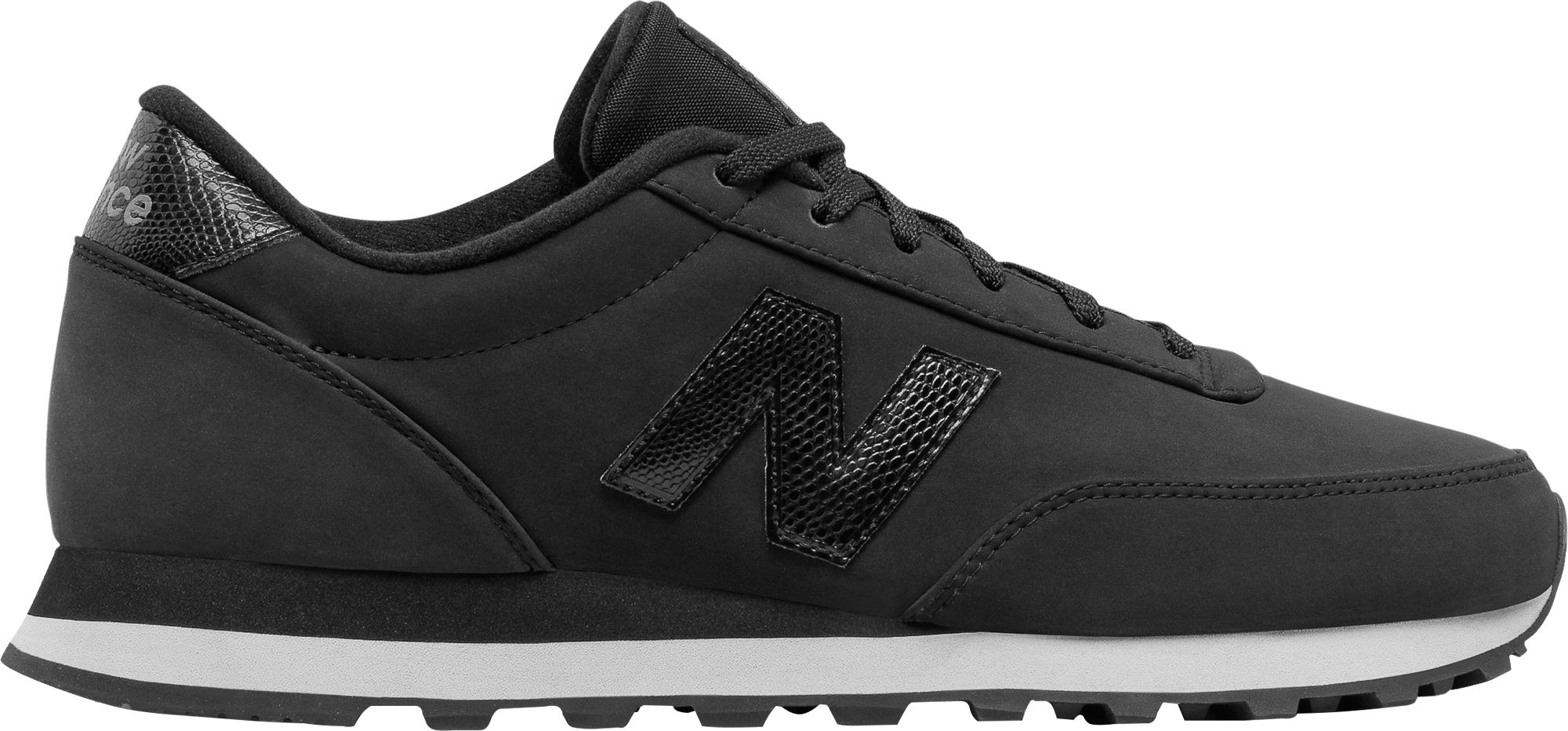 black new balance 501 sneaker