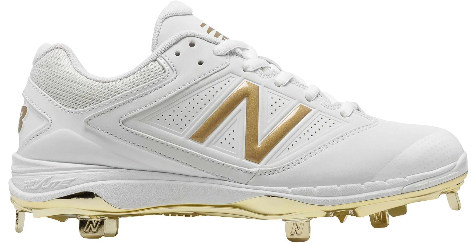 New Balance Men\u0027s 4040 V1 Gold Metal Baseball Cleats. 0:00. 0:00 / 0:00.  noImageFound ???