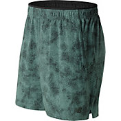 New Balance Men's Printed 2-In-1 Woven 7'' Shorts