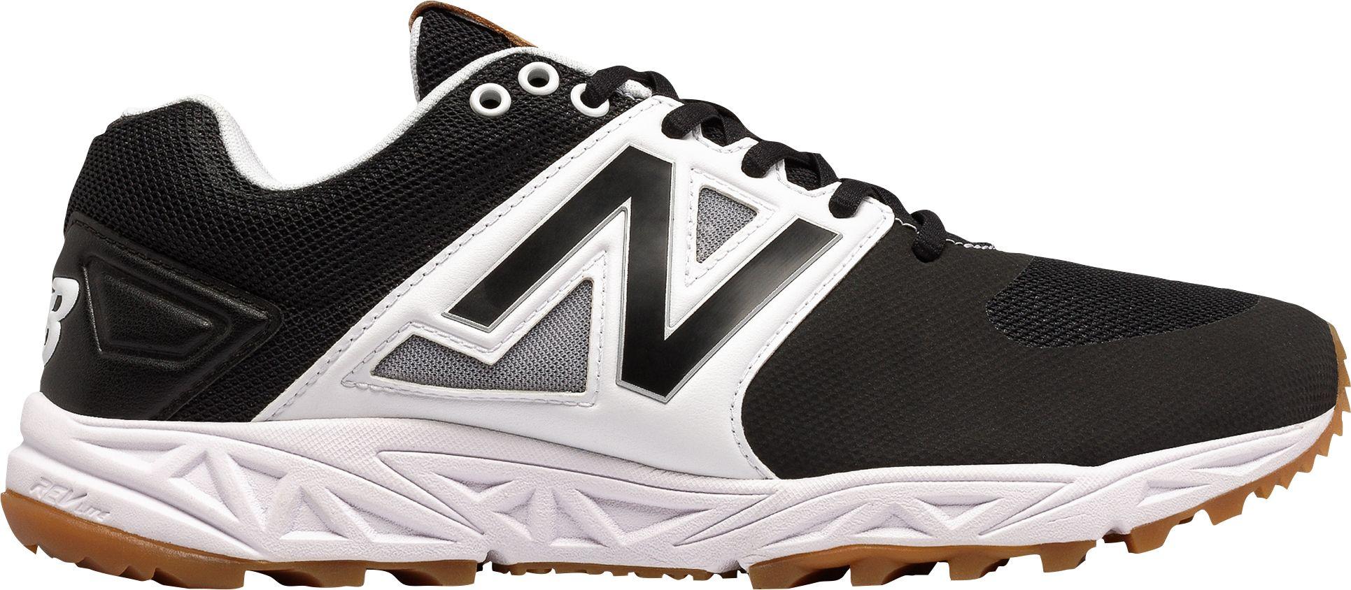 New Balance Men's 3000v3 Baseball Turf Shoes, Royal/White, 45 EU
