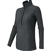 New Balance Women's Impact Half Zip Running Shirt