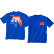New World Graphics Men's Florida Gators Blue 'Our State' T-Shirt