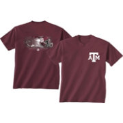 New World Graphics Youth Texas A&M Aggies Maroon Splash Football T-Shirt