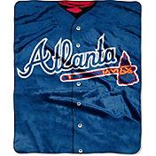 Northwest Atlanta Braves Jersey Raschel Throw Blanket