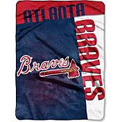 Northwest Atlanta Braves Strike Raschel Throw Blanket