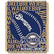 Northwest Milwaukee Brewers Double Play Blanket