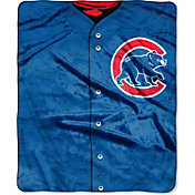 Northwest Chicago Cubs Jersey Raschel Throw Blanket