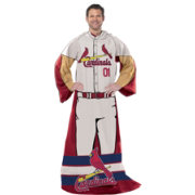 Northwest St. Louis Cardinals Uniform Full Body Comfy Throw