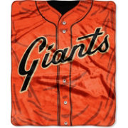 Northwest San Francisco Giants Jersey Raschel Throw Blanket