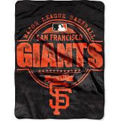 Northwest San Francisco Giants Structure Micro Raschel Throw Blanket