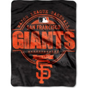 Northwest San Francisco Giants Structure Micro Raschel Throw Blanket