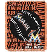 Northwest Miami Marlins Double Play Blanket