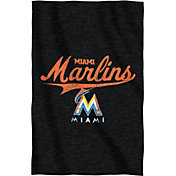 Northwest Miami Marlins Sweatshirt Blanket
