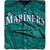Northwest Seattle Mariners Jersey Raschel Throw Blanket