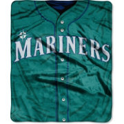 Northwest Seattle Mariners Jersey Raschel Throw Blanket