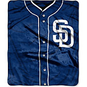 Northwest San Diego Padres Jersey Raschel Throw Blanket
