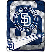 Northwest San Diego Padres Speed Raschel Throw Blanket