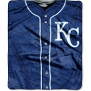 Northwest Kansas City Royals Jersey Raschel Throw Blanket