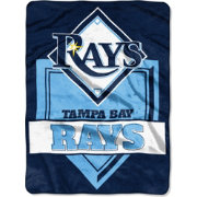Northwest Tampa Bay Rays Home Plate Blanket