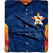 Northwest Houston Astros Jersey Raschel Throw Blanket
