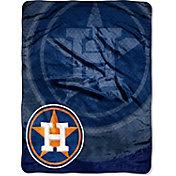Northwest Houston Astros Retro Raschel Throw Blanket
