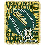 Northwest Oakland Athletics Double Play Blanket