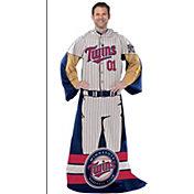 Northwest Minnesota Twins Uniform Full Body Comfy Throw