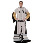 Northwest Chicago White Sox Uniform Full Body Comfy Throw