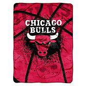 Northwest Chicago Bulls Raschel Shadow Play Blanket