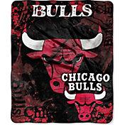 Northwest Chicago Bulls Dropdown Raschel Throw Blanket
