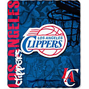 Northwest Los Angeles Clippers Hardknocks Fleece Throw