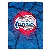 Northwest Los Angeles Clippers Raschel Shadow Play Blanket