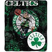 Northwest Boston Celtics Dropdown Raschel Throw Blanket