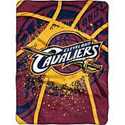 Northwest Cleveland Cavaliers Raschel Shadow Play Blanket