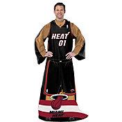Northwest Miami Heat Uniform Full Body Comfy Throw