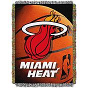 Northwest Miami Heat Photo Real Throw Blanket