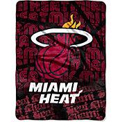 Northwest Miami Heat Redux Micro Raschel Throw Blanket
