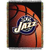 Northwest Utah Jazz Photo Real Throw Blanket