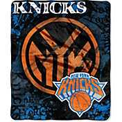 Northwest New York Knicks Dropdown Raschel Throw Blanket