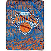 Northwest New York Knicks Redux Micro Raschel Throw Blanket