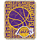 Northwest Los Angeles Lakers Double Play Blanket