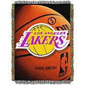 Northwest Los Angeles Lakers Photo Real Throw Blanket