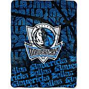 Northwest Dallas Mavericks Redux Micro Raschel Throw Blanket