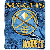 Northwest Denver Nuggets Dropdown Raschel Throw Blanket